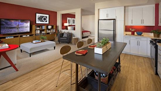 Crescent Village luxury apartments in San Jose CA
