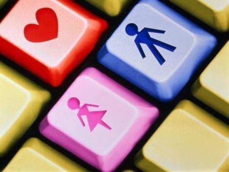 male female social media