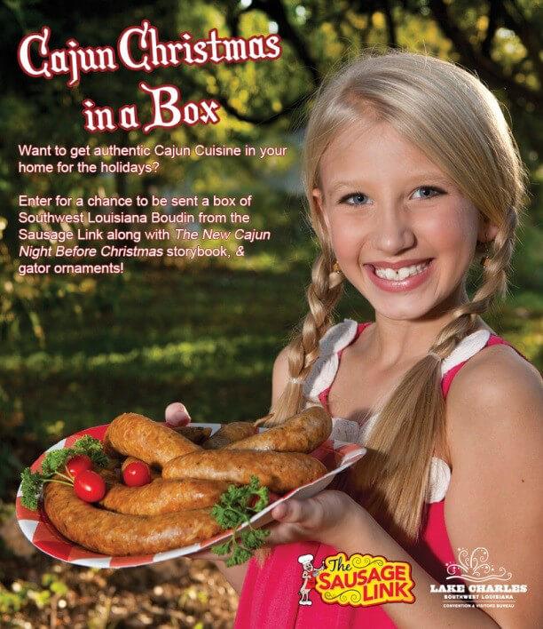 cajun christmas in a box