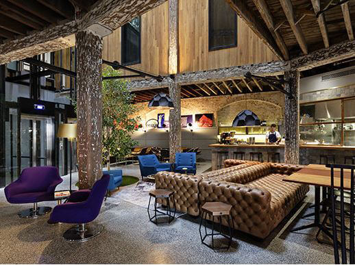 The Lobby of 1888 Hotel in Australia, the first Instagram hotel