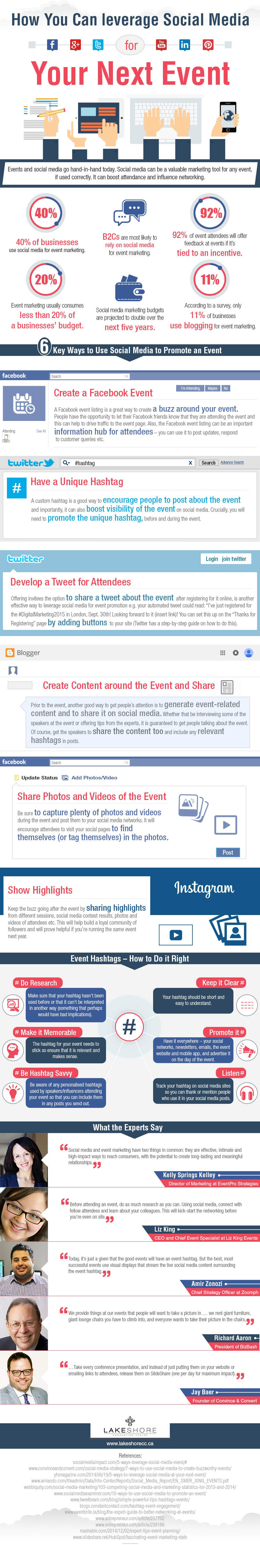 how-to-leverage-social-media-for-your-next-event-infographic