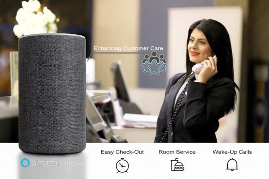 Alexa For Hospitality increases customer service
