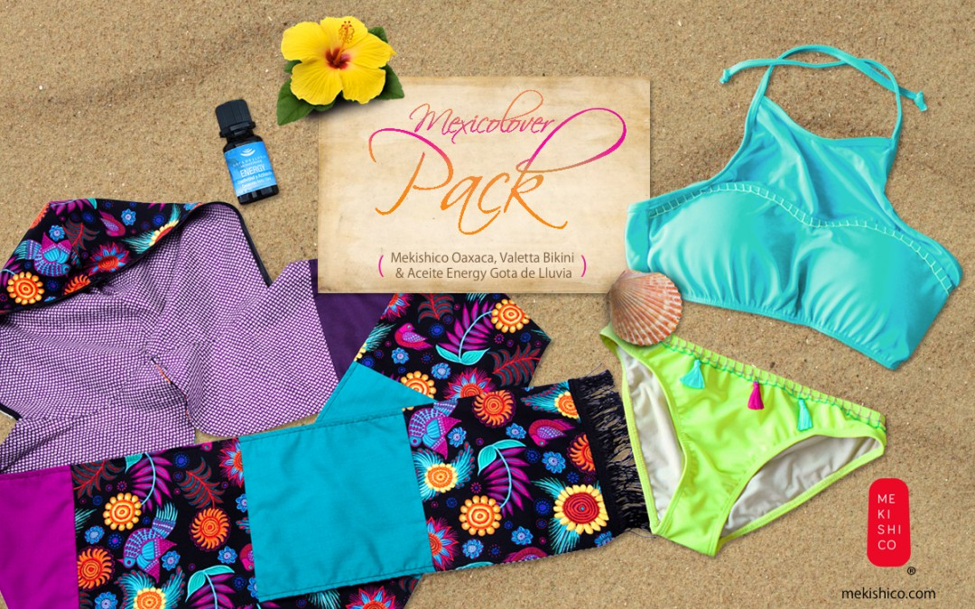 Ready for the beach, ready for #MexicoLover pack!