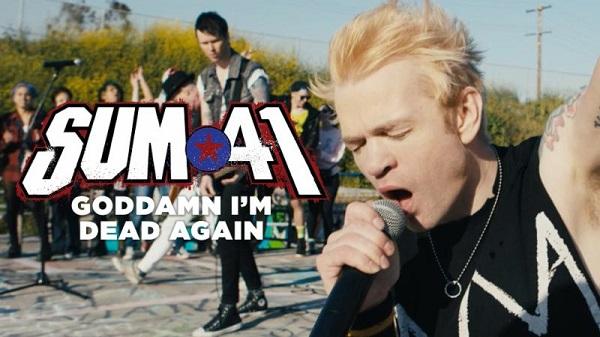 "Sum 41 Releases New Fan-Filled Video for ""Goddamn I'm Dead Again"""