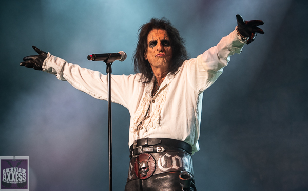 Alice Cooper and Ace Frehley @ Stanley Theater Utica, NY 9-22-21