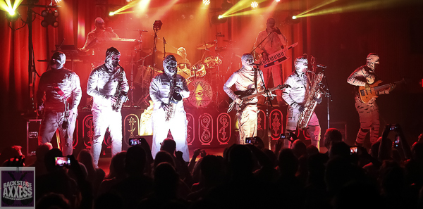Here Come The Mummies at Neighborhood Theatre Charlotte, NC 9-23-21