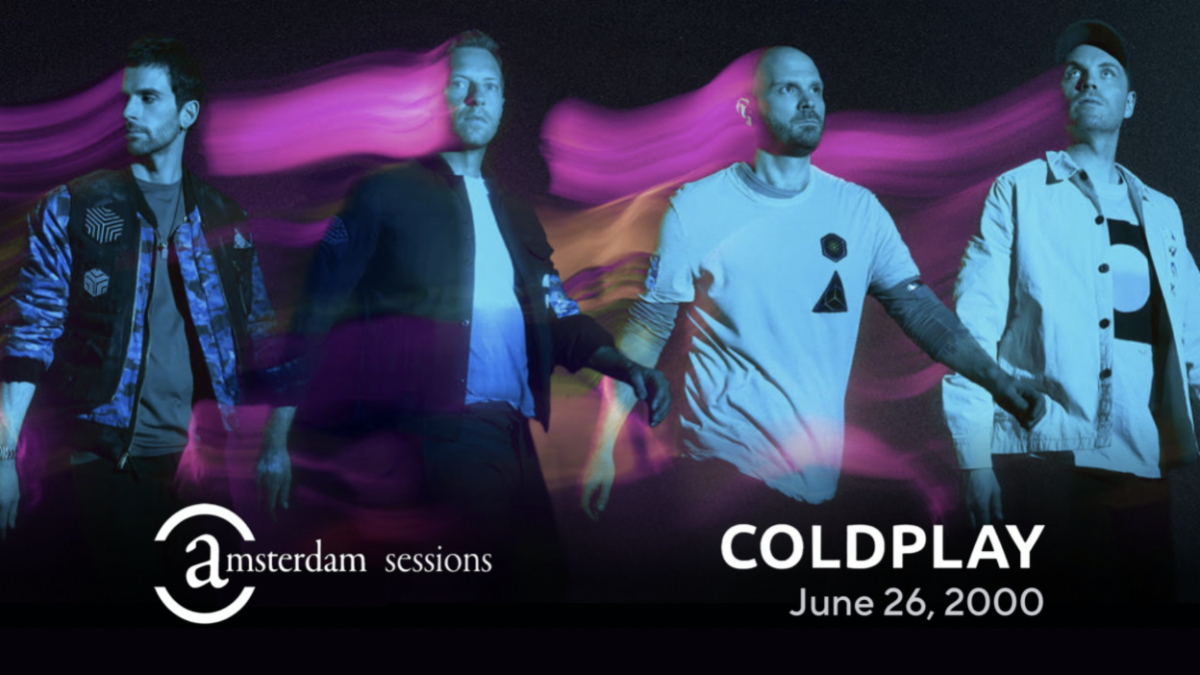 """Coldplay's """"Amsterdam Sessions"""" Now Streaming For The First Time Ever Exclusively On The Coda Collection"""