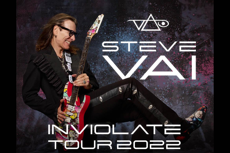 Steve Vai Announces 2022 U.S. Tour