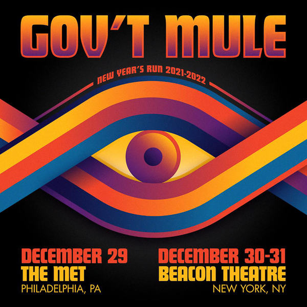Gov't Mule Announces 3-Show New Year's Run in NYC and Philadelphia