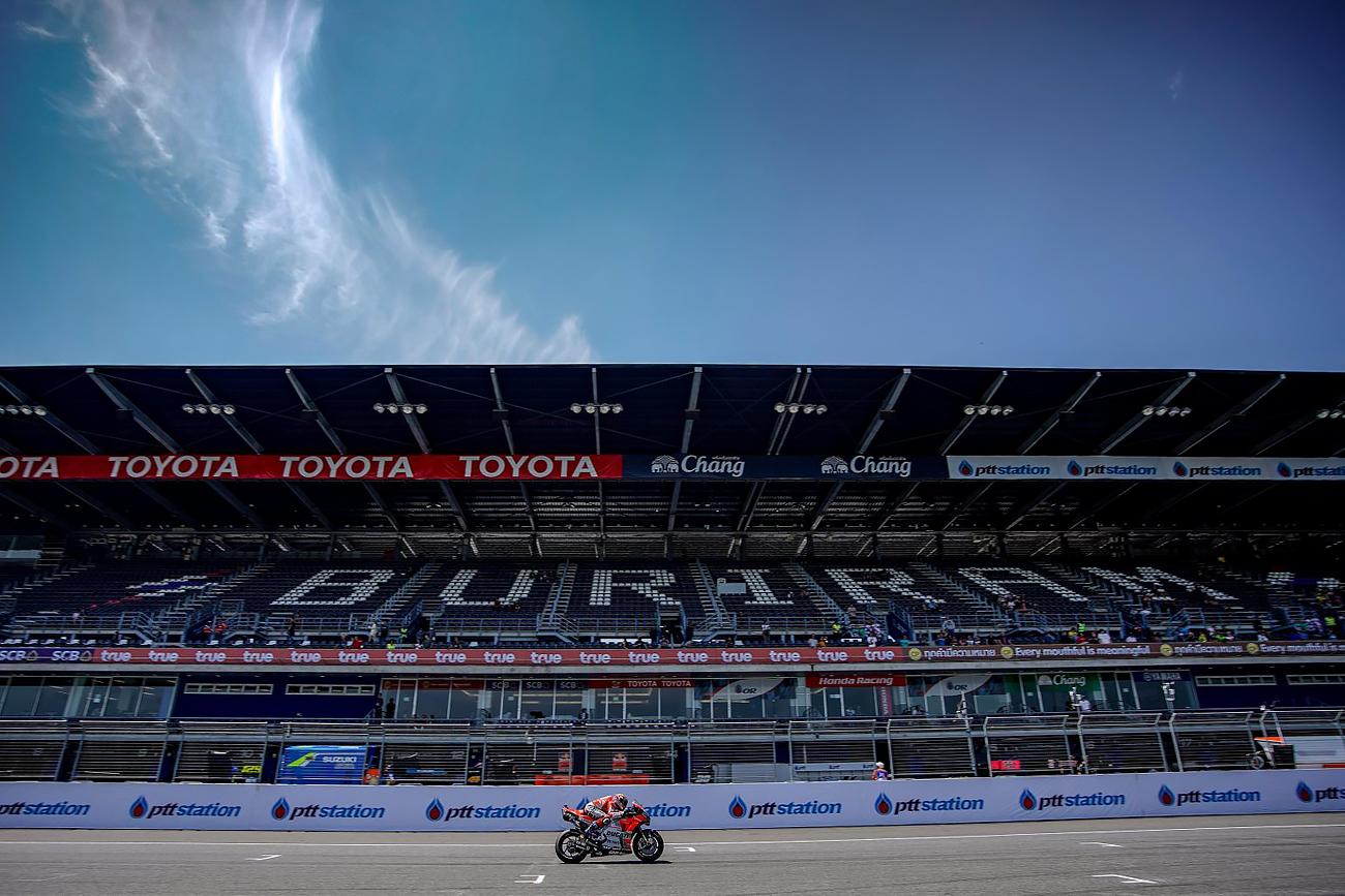 Andrea Dovizioso during Buriram Thailand MotoGP Practice
