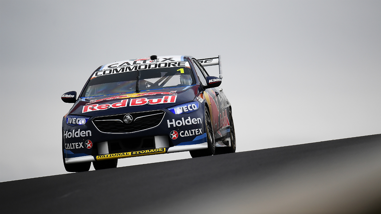Jamie Whincup during qualifying at the Bathurst 1000, 2018