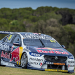 Jamie Whincup heads out of MG