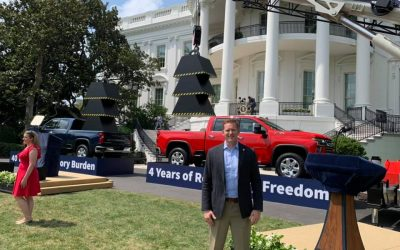 Rep. Grier Honored for Pro-Worker Reform at White House