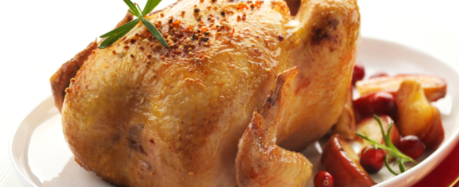 Cranberry Roasted Chicken