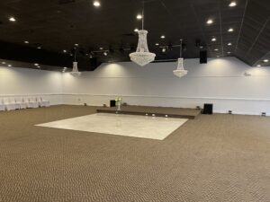 Event Hall Prior To Decorating