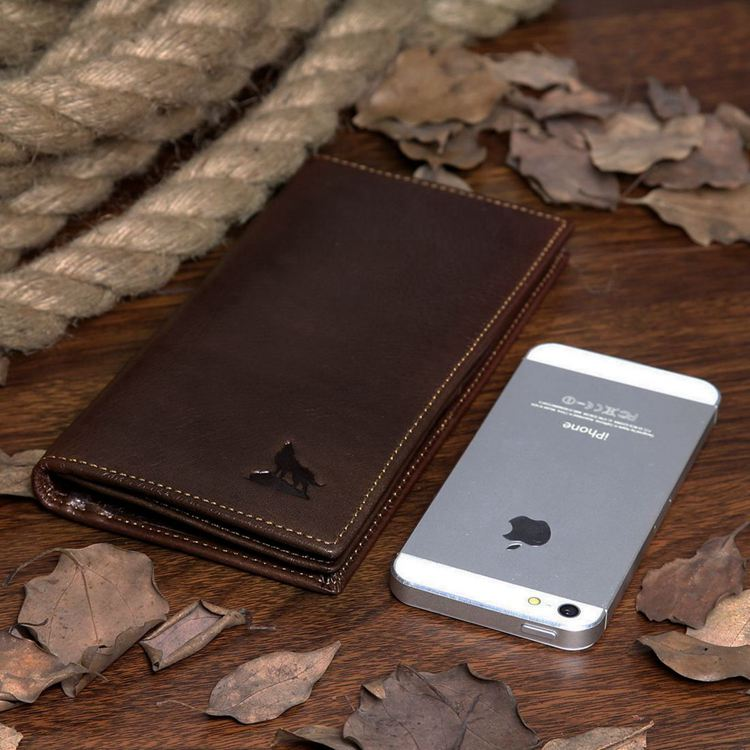 Leather Purse Wallet Card Holder