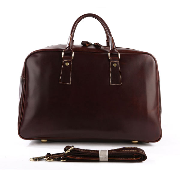 Leather Travel and Duffle Bag