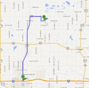 Shawnee Exit Map