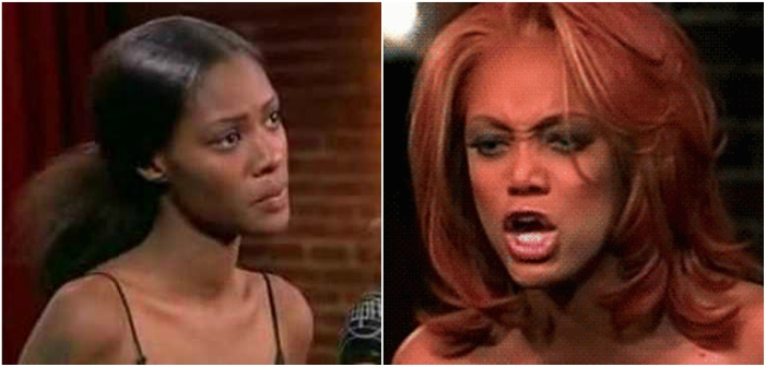 Tyra Banks Yelling