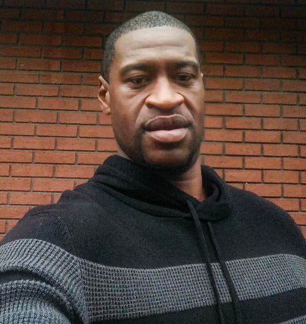 Photo of George Floyd, who was killed by former police officer, Derek Chauvin.