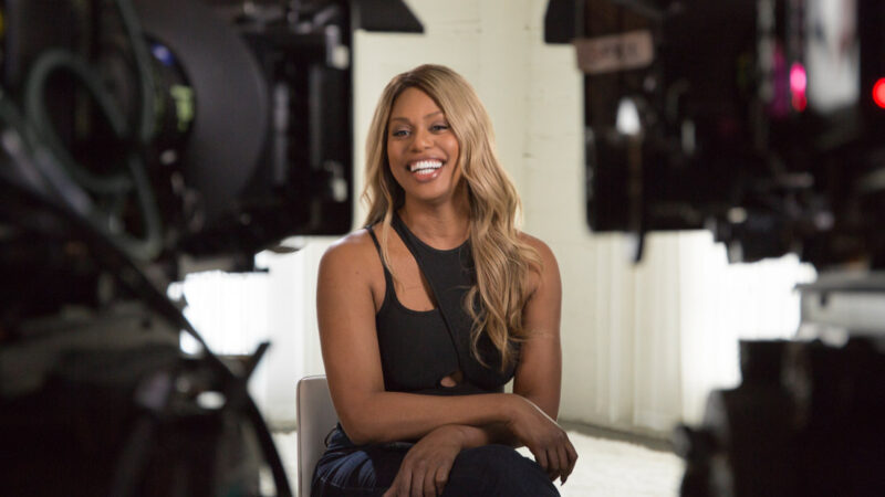Trans activist and actress, Laverne Cox is featured in Netflix's new film documentary, Disclosure.