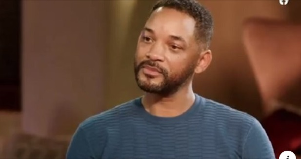 Rapper/actor Will Smith listens to his wife Jada Pinkett-Smith as she details her affair with singer, August Alsina.