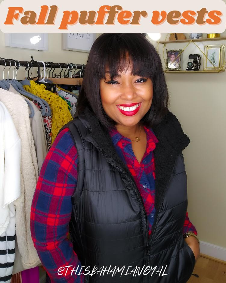 Black blogger Rogan Smith wears a black Avalanche puffer vest.