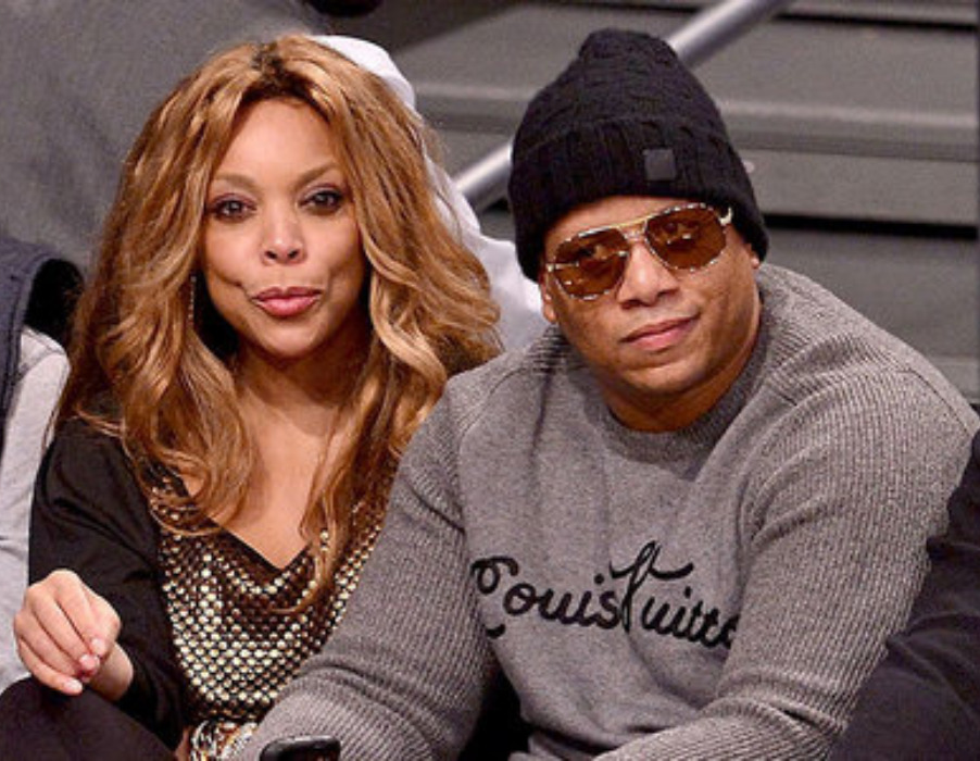 Gossip talk show host, Wendy Williams with her ex-husband, Kevin Hunter.