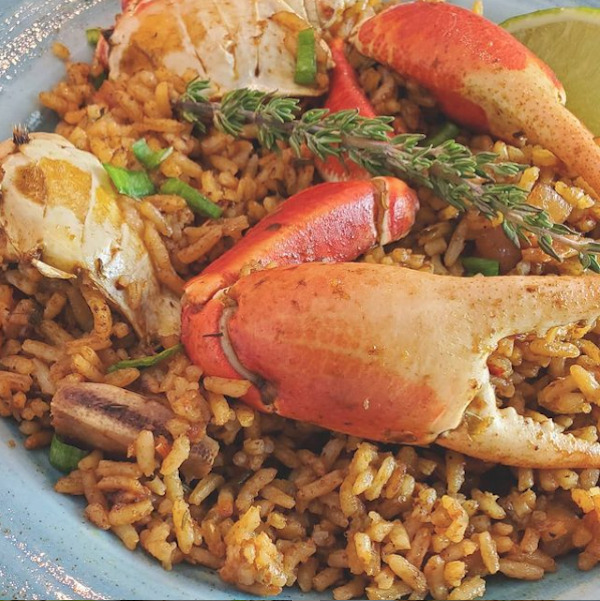 Photo of Bahamian crab n' rice