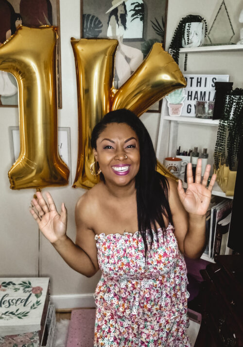 Rogan Smith of This Bahamian Gyal is excited over getting 1000 YouTube subscribers