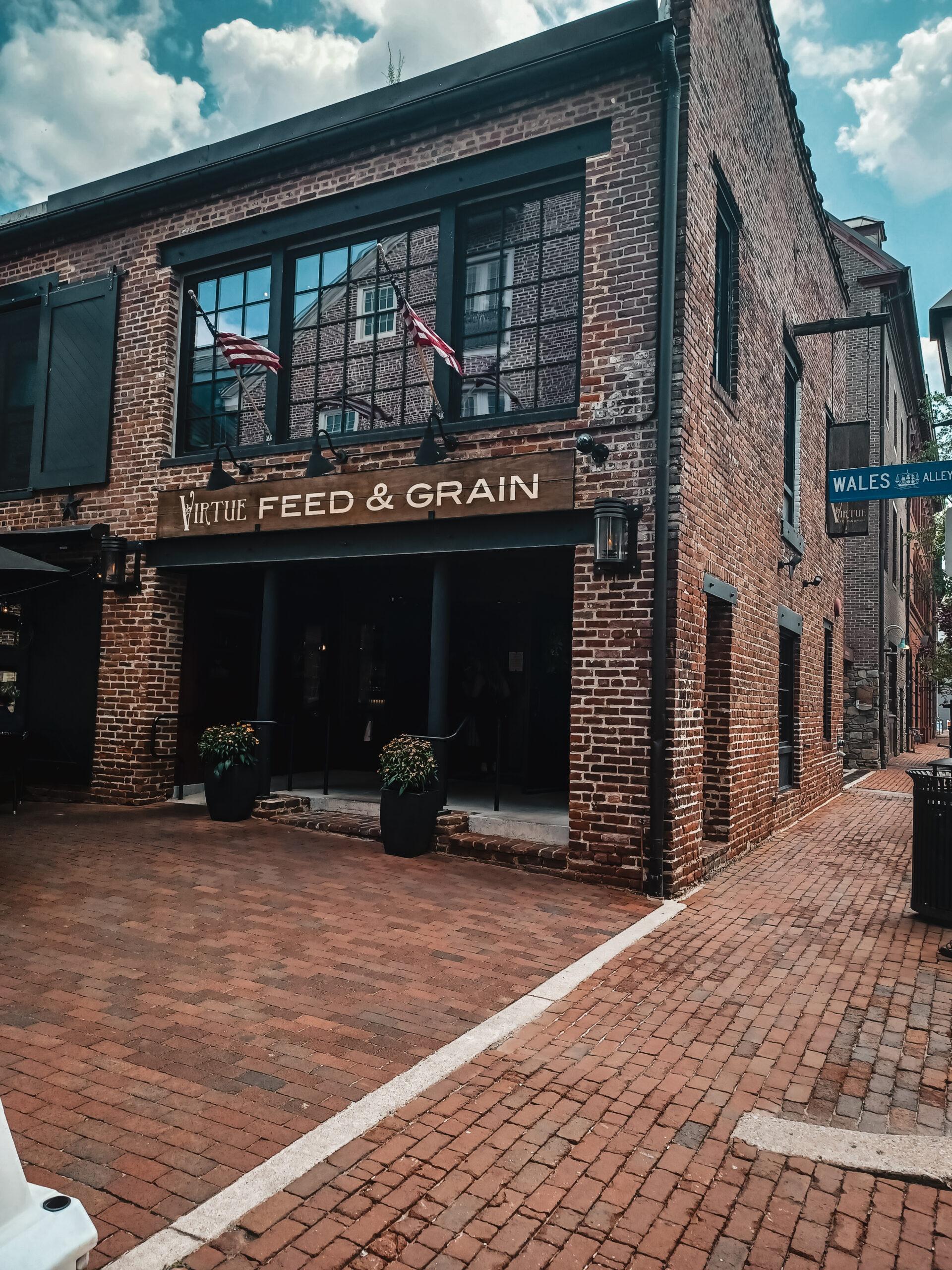 Photo of Virtue Feed and Grain restaurant in Alexandria Virginia