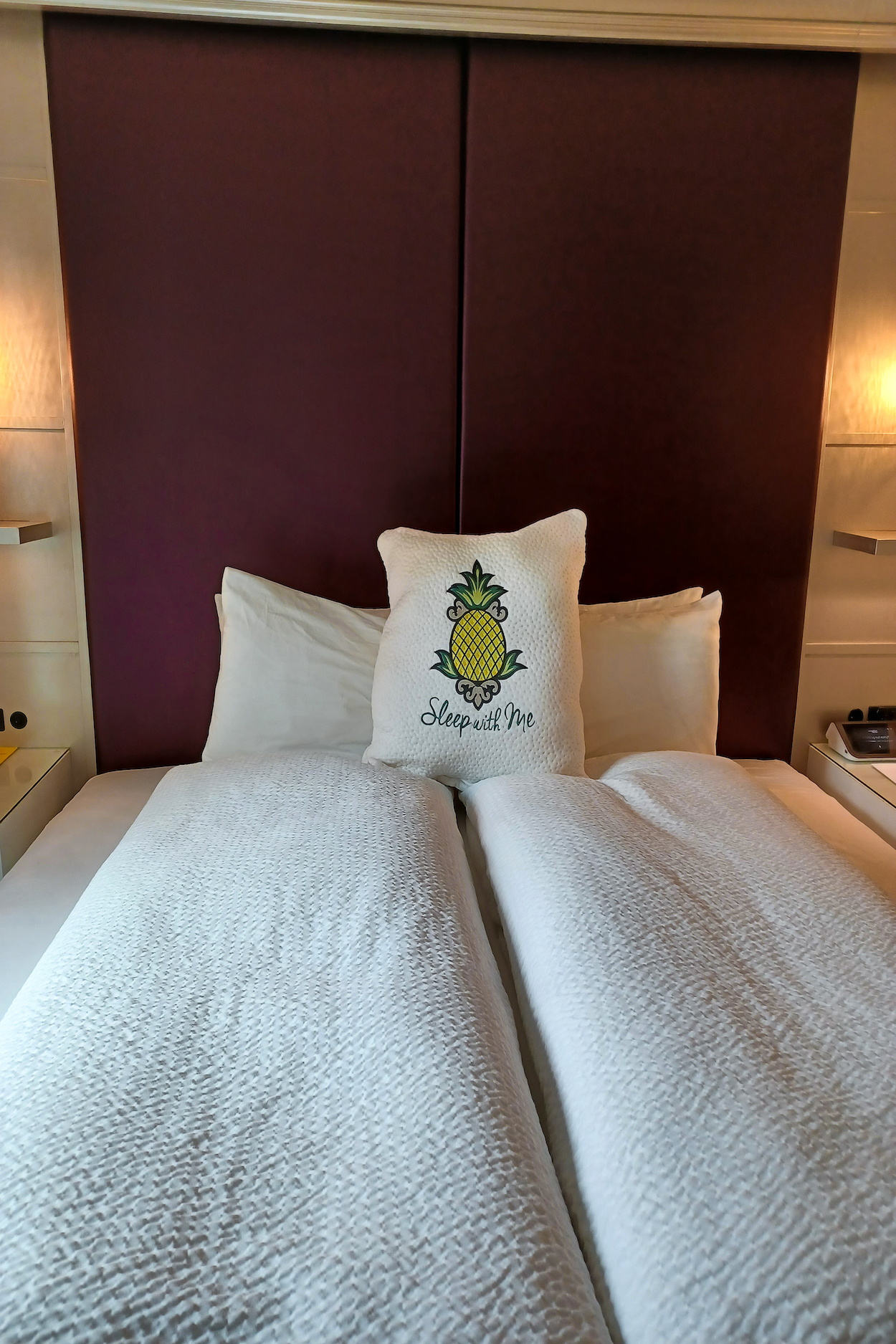 King size bed at StayPineapple New York City