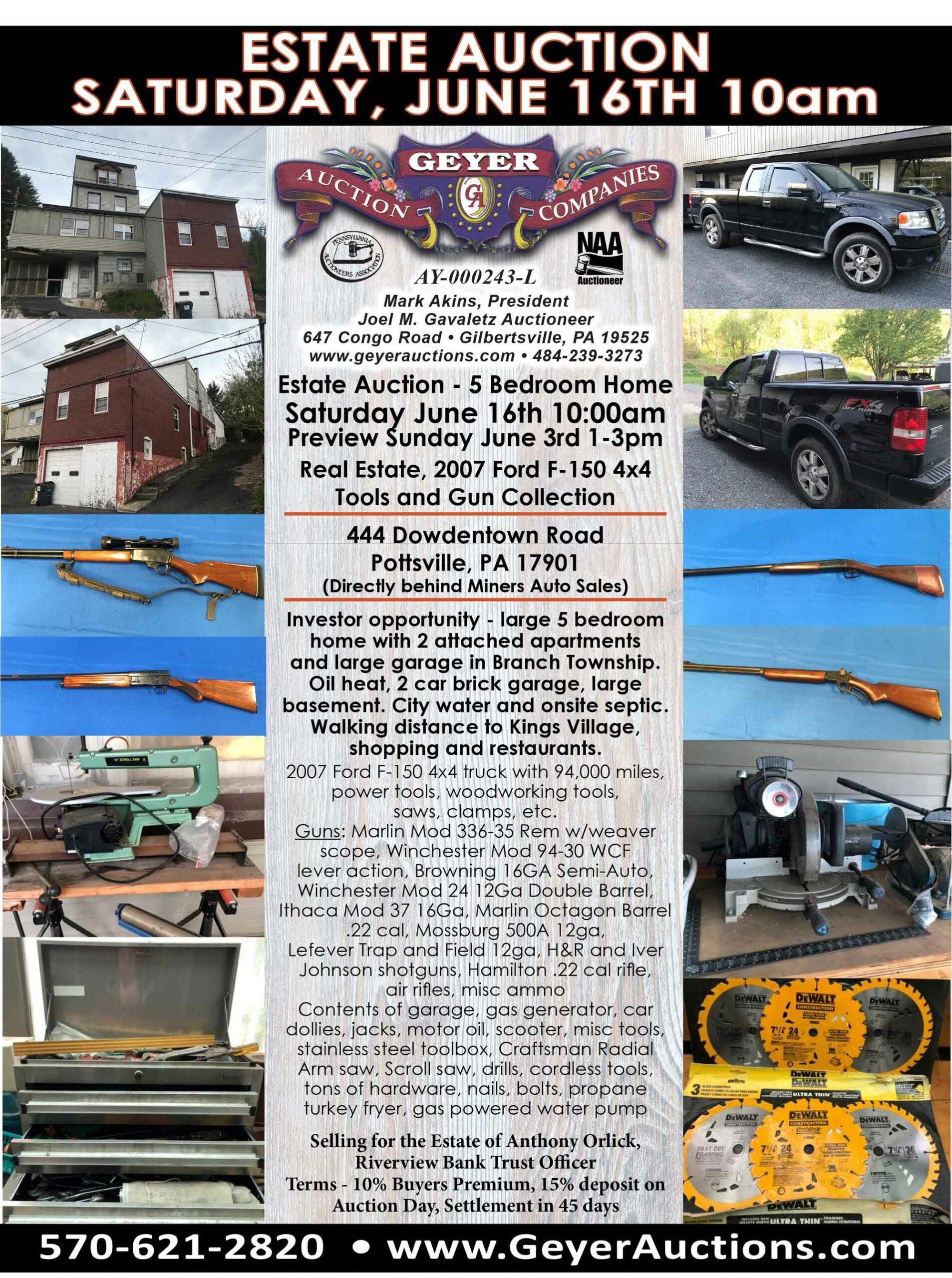 6_16_2018_Pottsville-Estate-Auction