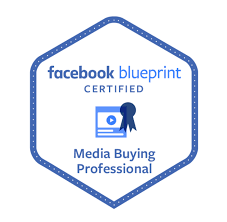 Facebook Blue print certified Media Buying Professional