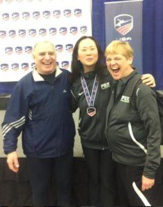 photo of Lynn Yun and Cheryl Maslen at NAC award ceremony
