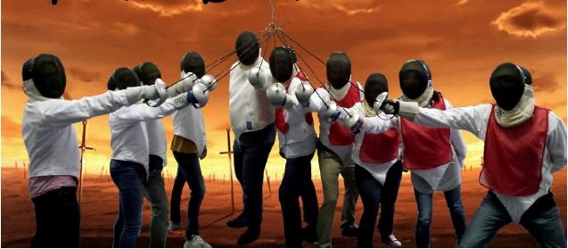 fencing - team building activity