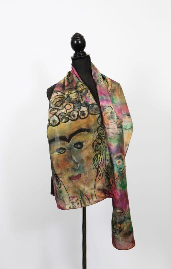 Frida on Silk