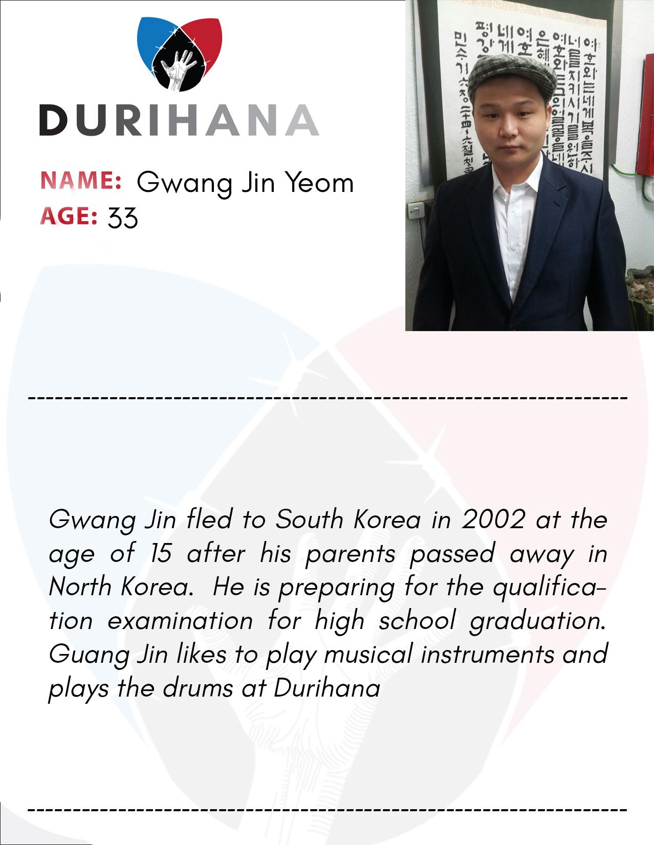 Gwang Jin Yeom
