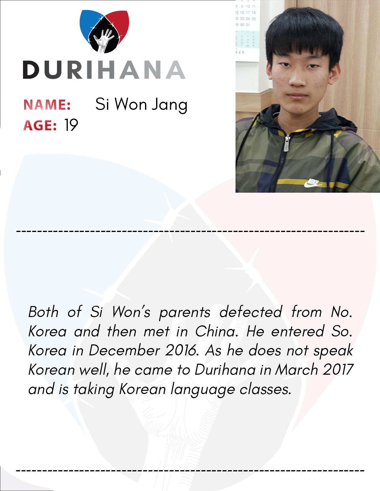 Si Won Jang