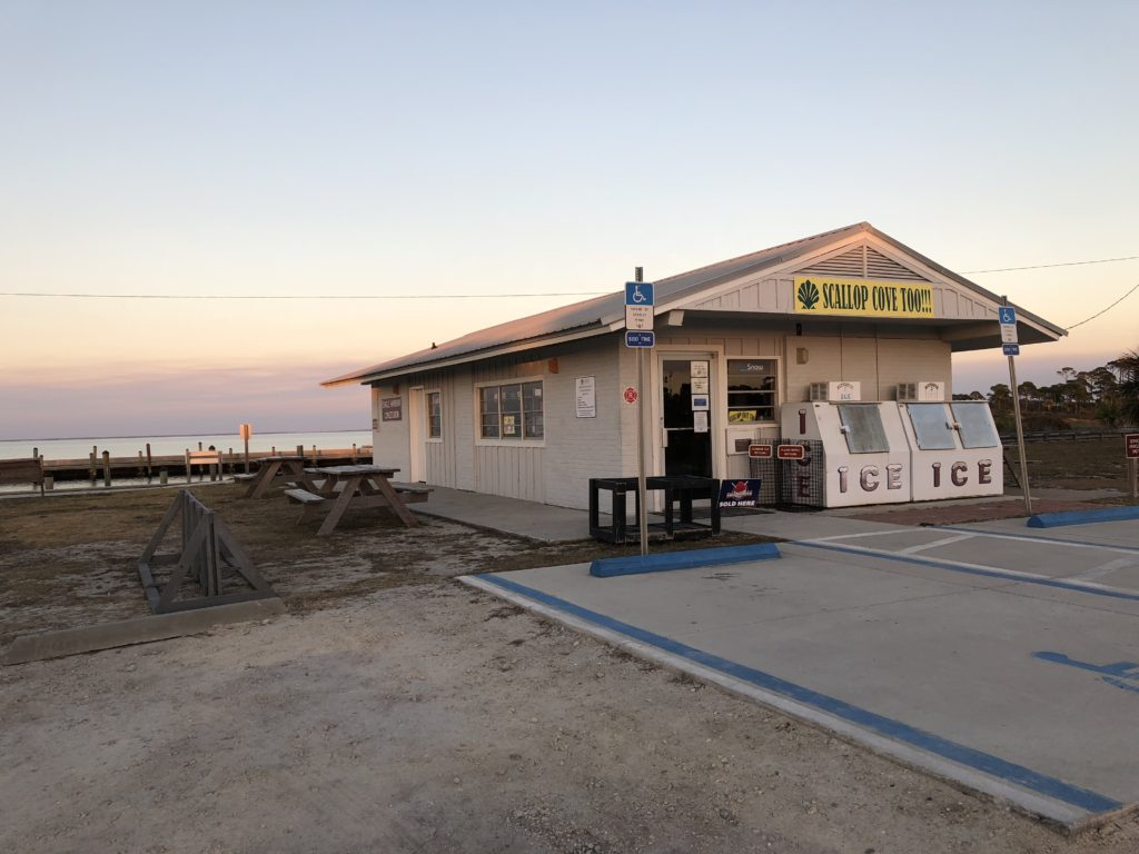 Scallop Cove Too General Store and Rentals at St Joseph State Park in Cape San Blas Florida