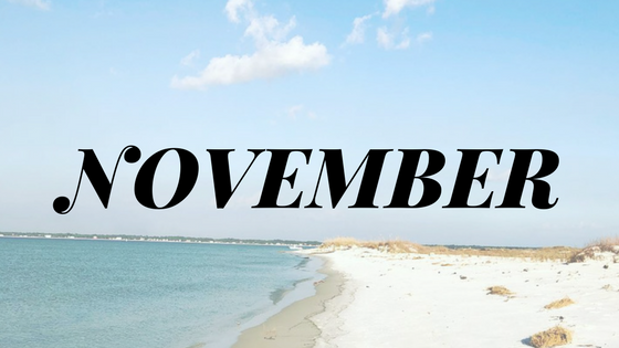 Things to do in November in Cape San Blas