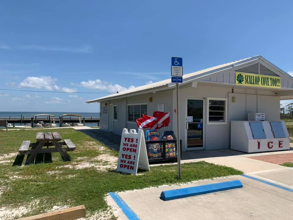 Scallop Cove Too is open