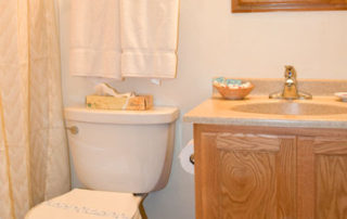 The Eagle's Nest bathroom