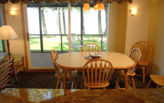 Shallows Cottage dining rrom table and chairs