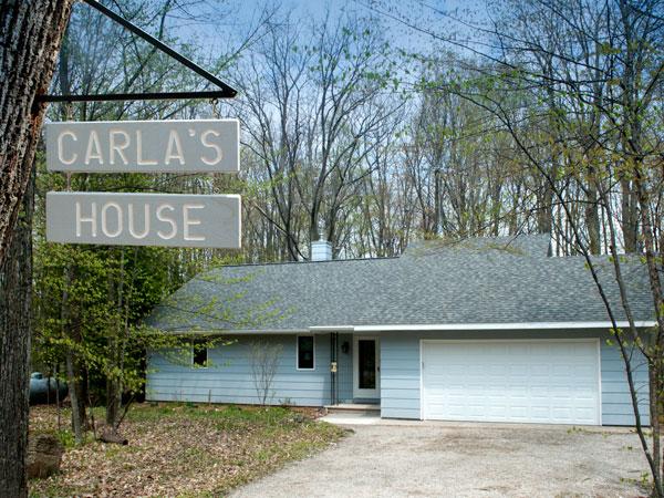 Carla's House door county rental