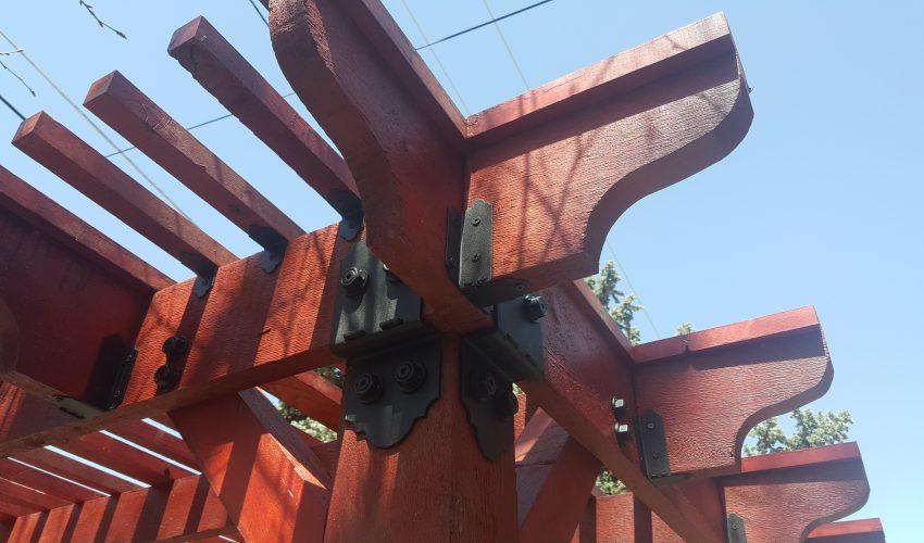 Pergola Built by Handyman Denver Colorado