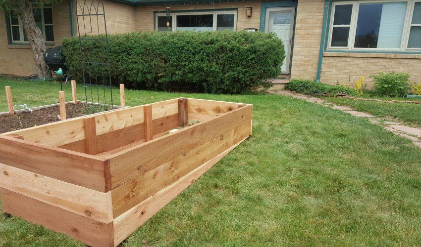Backyard Work Done by Handyman Golden CO