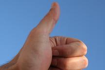 Thumbs Up from Handyman Denver Colorado