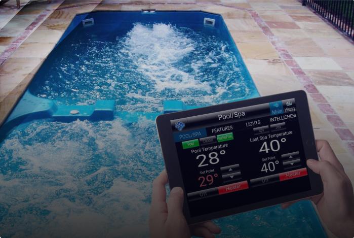 Pool Spa Tamprature test