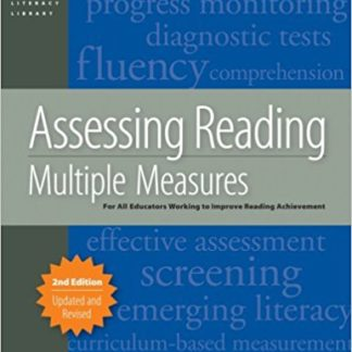 Image of Assessing Reading: Multiple Measure